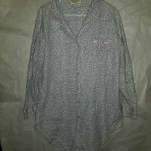 Bobbie Brooks Pajama Top Large